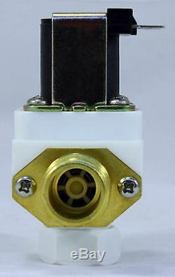 1/2 inch 220V-240V AC Solenoid Valve with Check Valve Filter ONE-YEAR WARRANTY