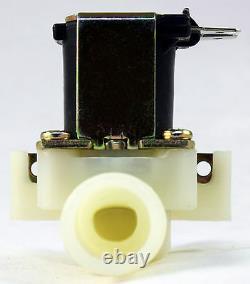 1/2 inch NPS Thread 110V-120V AC Plastic Nylon Solenoid Valve ONE-YEAR WARRANTY