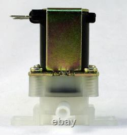 1/4 inch Instant Fit 110V-120V AC Plastic Nylon Solenoid Valve ONE-YEAR WARRANTY
