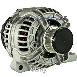 100% NEW ALTERNATOR HIGH OUTPUT 200AMP FOR VOLVO, WithHD PULLEY ONE YEAR WARRANTY