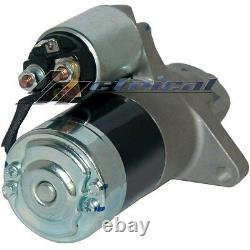 100% NEW STARTER FOR MAZDA RX7 Non/TURBO Manual/Trans. 86-92 ONE YEAR WARRANTY