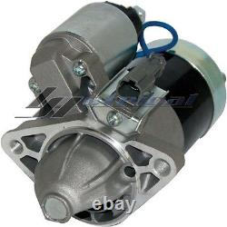 100% NEW STARTER for NISSAN SENTRA 1.6L 4Cyl 1989-1999 ONE YEAR WARRANTY