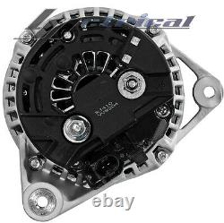 100% New Alternator For Porsche, 911, Boxster, Oem Clutch Pulley One Year Warranty