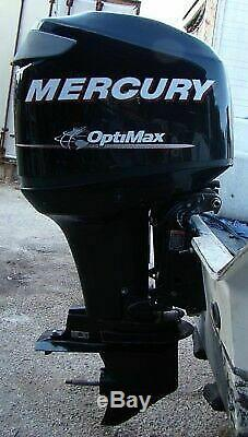 115 Mercury Optimax 2004 rebuilt one year power head warranty. All new pistons