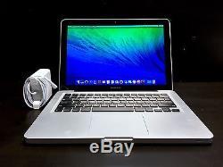 13 inch MacBook Pro 13.3 Apple Mac Laptop / One Year Warranty / Upgraded 500GB
