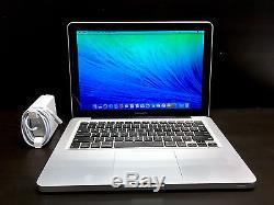 13 inch MacBook Pro Pre-Retina 2012/2016 One Year Warranty! Upgraded 1TB Storage