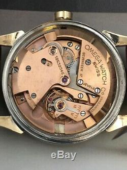 1950 Vintage Omega Bumper Automatic, Rose Gold S/S Serviced One Year Warranty