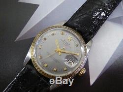 1966 Vintage Men's Rolex Date Ref 1505, Rare Dial, Serviced One Year Warranty