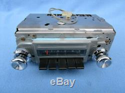 1968 Pontiac GTO Lemans Am Radio Serviced Original With Warranty 7302752