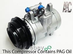 1980-1989 Porsche 928 USA Remanufactured A/c Compressor With One Year Warranty