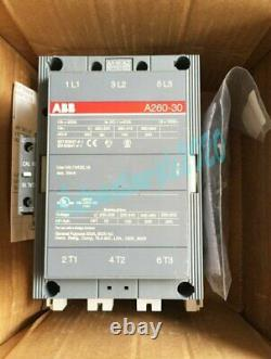 1PC Brand New ABB A260-30-11 Contactor 120V One year warranty