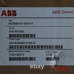 1PC New In Box ABB ACS550-01-087A-4 45kw One year warranty