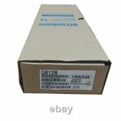 1Pc New IN BOX Mitsubishi Q612B 12 slot base unit MELSEC-Q One year warranty