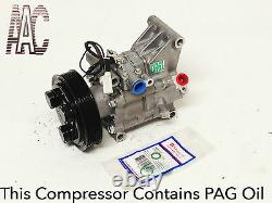 2011-2012 MAZDA 2 USA REMANUFACTURED A/C COMPRESSOR With ONE YEAR WARRANTY