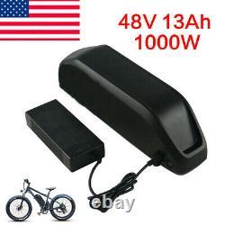 48V 13Ah 1000W E-bike Battery Li-ion Battery Pack 2A Charger One Year Warranty