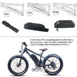 48V 17.5Ah 1000W E-bike Battery Li-ion Battery Pack 2A Charger One Year Warranty