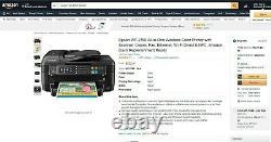 62% OFF Epson Workforce WF-2760 All-In-One InkJet Printer 1-Year Epson Warranty
