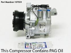 99-02 Mercedes Benz Sl500 A/c Compressor With One Year Warranty
