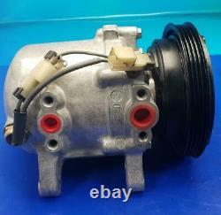 Ac Compressor Fits 1989 1990 Nissan 240sx (one Year Warranty) Reman 57447