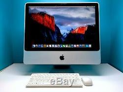Apple 20 iMac All-in-One / 2.0GHz Intel / 160GB HDD / 4GB RAM / 3 Year Warranty
