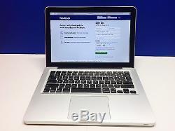 Apple Mac Laptop Computer 13.3 inch MacBook Pro OSX 2015 One Year Warranty