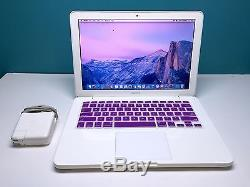 Apple MacBook 13 inch Mac Laptop One Year Warranty OSX 2016 Upgraded 500GB HD