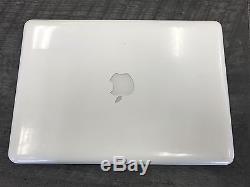 Apple MacBook A1342 13 2.2/2.4Ghz 250GB, 4GB 2017 High Sierra ONE YEAR WARRANTY