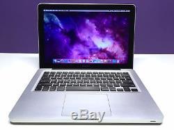 Apple MacBook Pro 13 2012-2016 / 1TB DRIVE / OSX-2017 / ONE YEAR WARRANTY