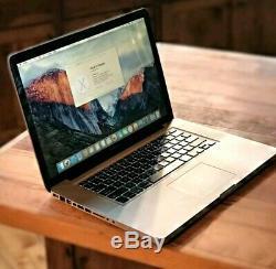 Apple MacBook Pro 13 2GHz 4GB RAM 128GB SSD OSX-2015 One-Year Warranty