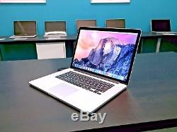 Apple MacBook Pro 15 Retina OSX-2017 / Core i7 / One Year Warranty / 512GB SSD