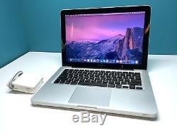 Apple Macbook Pro 13 Laptop OSX-2017 Pre-Retina / 2.5Ghz / ONE YEAR WARRANTY