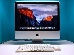 Apple iMac 20 All-In-One / 2.66GHz Intel / Radeon GPU / 3 Year Warranty