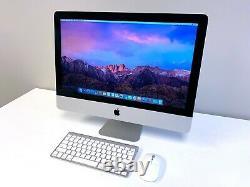 Apple iMac 21.5 inch Slim All-in-One Desktop Computer / 500GB / 2 YEAR WARRANTY