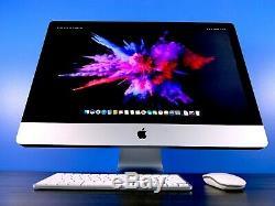 Apple iMac 27 All-In-One Desktop QUAD CORE 3.7GHZ / OS-2017 / 3 YEAR WARRANTY