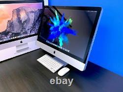 Apple iMac 27 Desktop All-In-One 3.7GHZ TURBO 1TB OS2017 3 YEAR WARRANTY