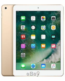 Apple iPad 5th Gen. 32GB, Wi-Fi, 9.7in Gold Brand new one year warranty