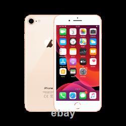 Apple iPhone 8 256GB Gold (Unlocked) A1863 (CDMA + GSM) ONE YEAR WARRANTY