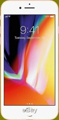 Apple iPhone 8 64GB GSM Network Unlocked A1905 One Year CPS Warranty Included