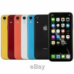 Apple iPhone XR 128GB GSM Unlock A1984 Grade A One Year Warranty