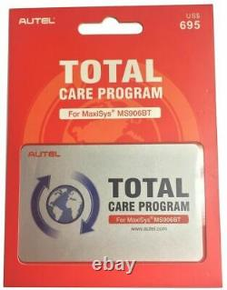 Autel TCP MS906BT One Year Subscription Software Update and Warranty MS906BT1YR