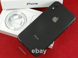BRAND NEW! APPLE iPhone XR BLACK 64GB, VERIZON + ONE YEAR APPLE WARRANTY! L@@K