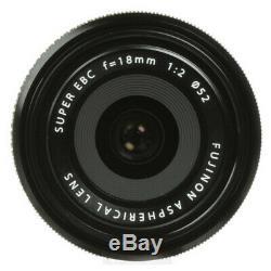 BRAND NEW BOXED Fuji Fujifilm Fujinon XF 18mm f/2 R Lens + ONE YEAR WARRANTY