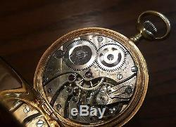 Beautiful Antique Pocket Watch by Ryrie's Brothers of Toronto, ONE YEAR WARRANTY
