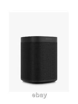 Black Sonos One SL Brand New Refurbished by Sonos 2 Year Warranty