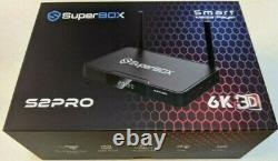 Brand New Superbox Super Box S2Pro S2 Pro TV Streamer ONE YEAR WARRANTY