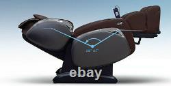 Brown Osaki OS-4000CS Zero Gravity Massage Chair Recliner with One Year Warranty
