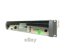 CROWN I-TECH 4X3500 HD POWER AMP With BINDING POST #6090 (ONE)(6 YEARS WARRANTY)