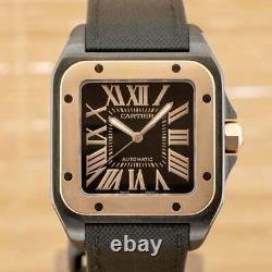 Cartier Santos 100 Boxed with One Year Warranty