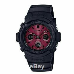 Casio G-Shock Black and Red Series Watch AWRM100SAR-1A with one year Warranty