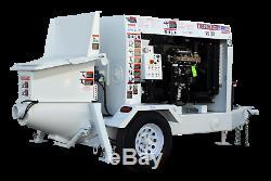 Concrete Pump For Sale 2019 Olinpump 15 30 (one Year Warranty)